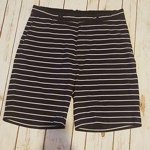 Mens Ralph Lauren striped golf shorts in size 34
